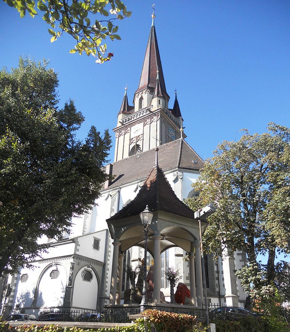 Blick auf das Münster Unserer Lieben Frau in Radolfzell