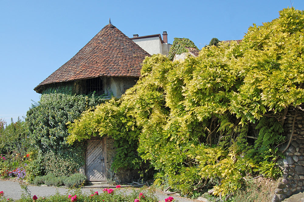Alter Wehrturm im Stadtgarten von Radolfzell