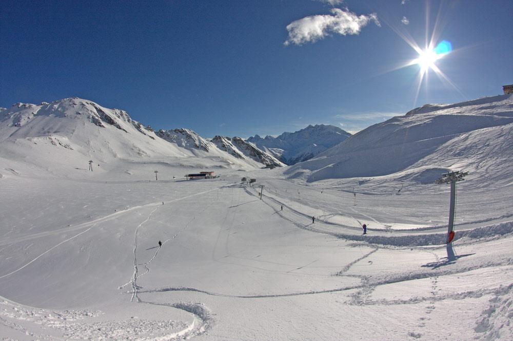 Schlepplift Viehbuehel im Skigebiet Heiligenblut-Großglockner