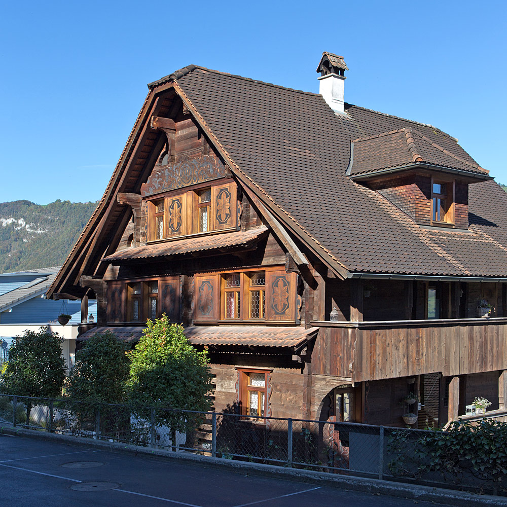Das Blauhaus in Buochs