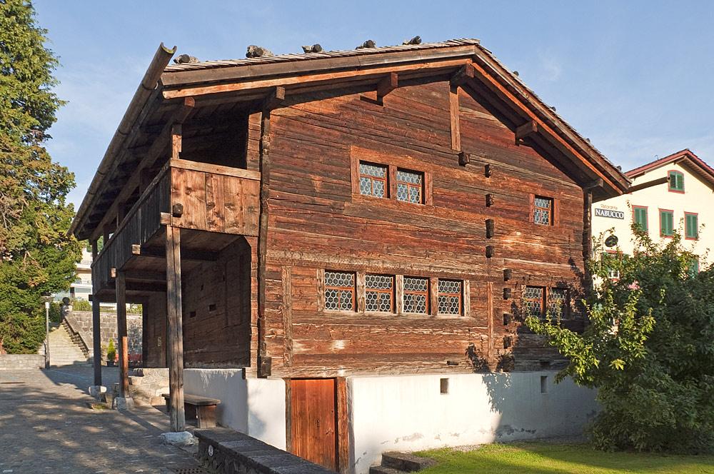 Außenansicht des Sigristenhauses in Hergiswil