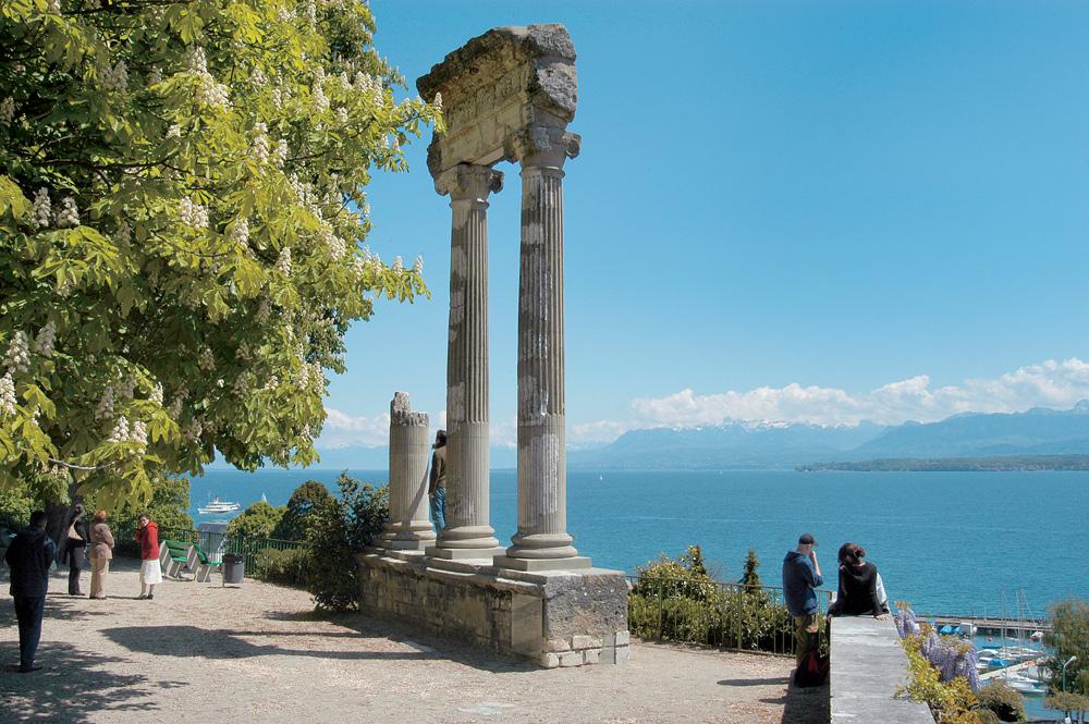 Römische Säulen in Nyon
