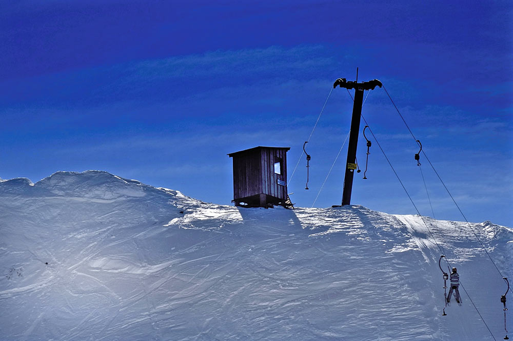 Lift auf den Skiberg Niedere im Skigebiet Andelsbuch-Bezau