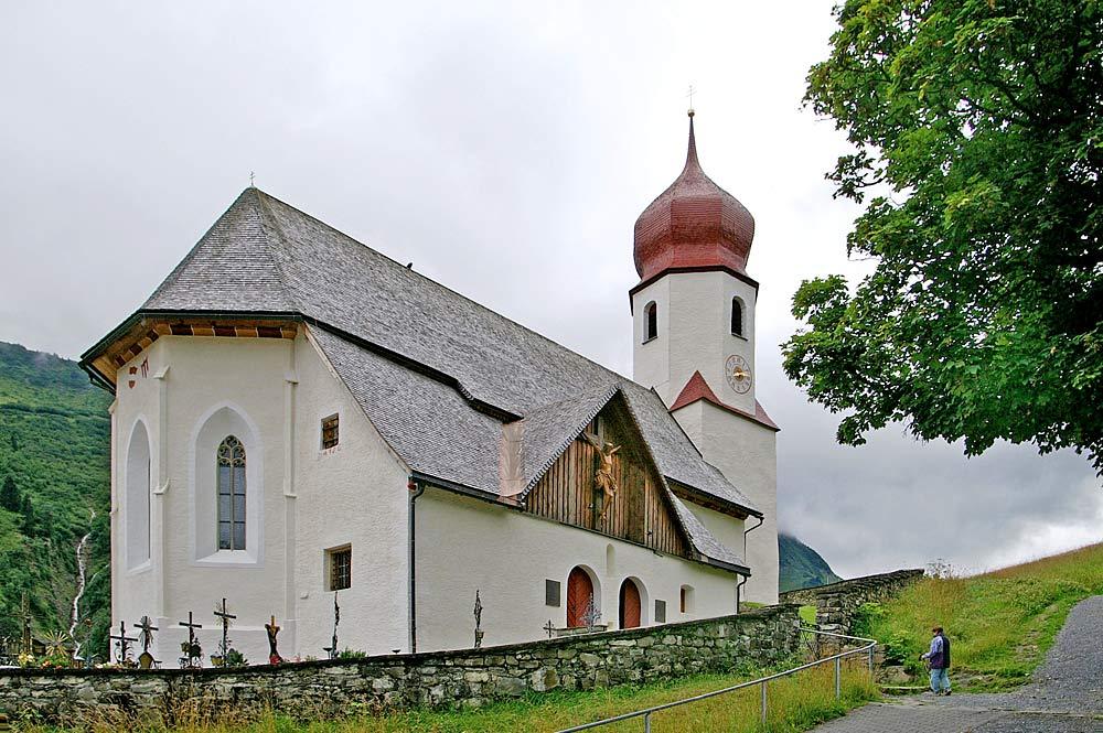 Pfarrkirche St. Nikolaus in Damüls