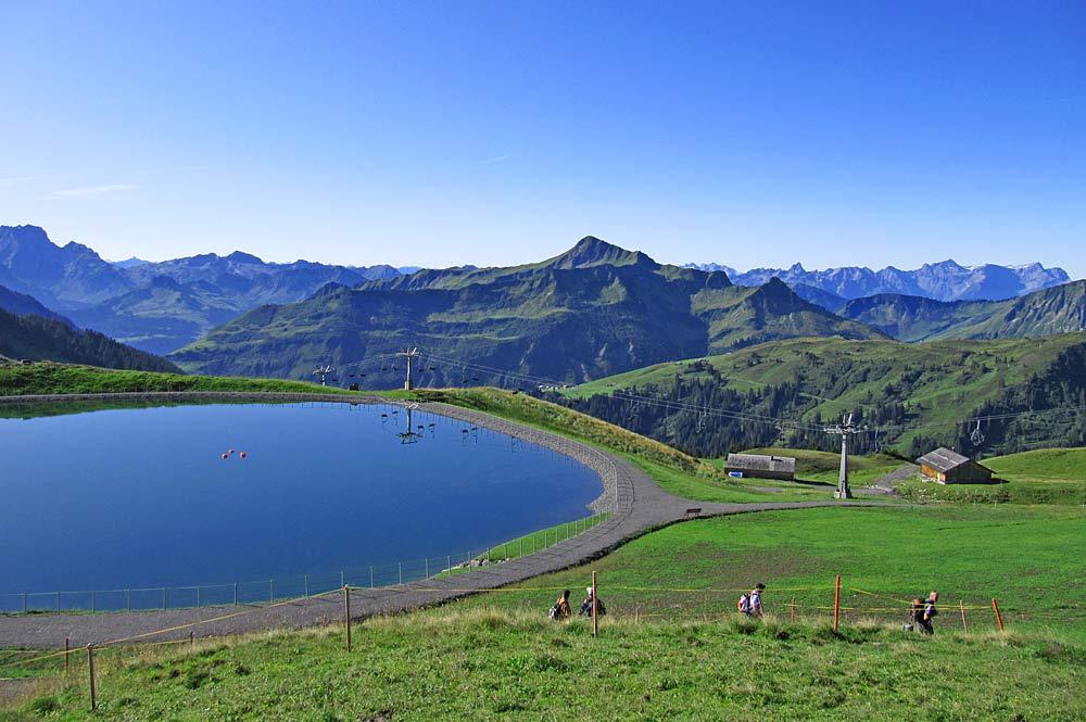 Uga-Alpsee bei Damüls