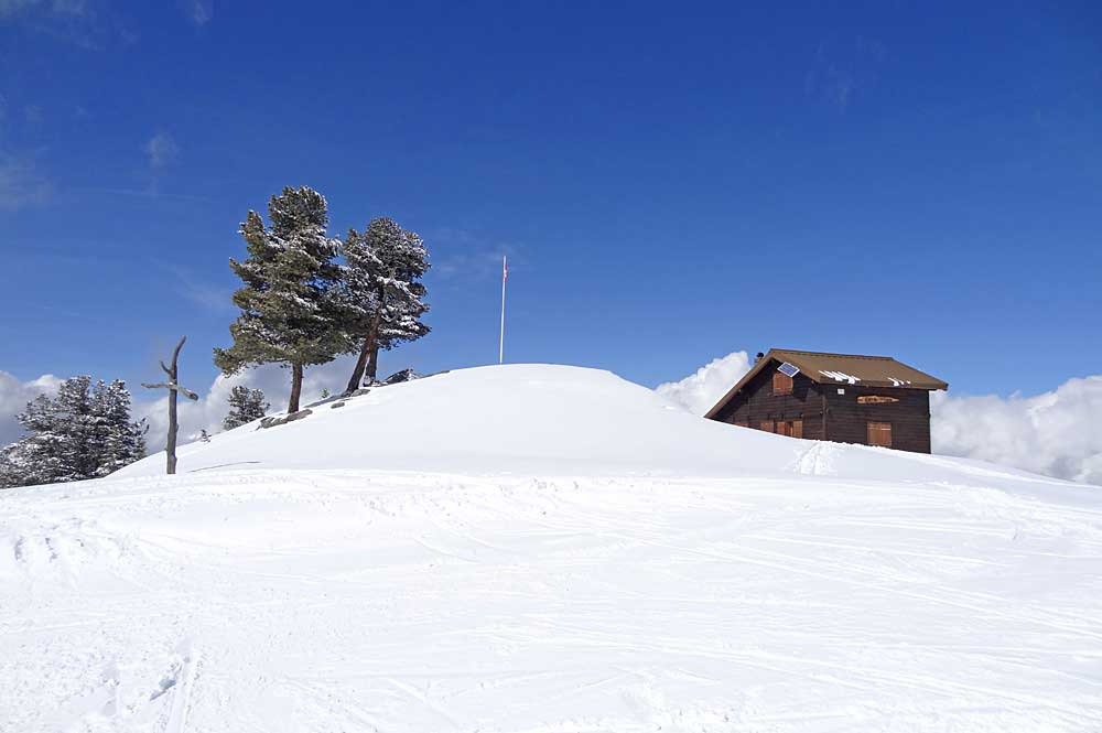 Chalet bei Nax am Mont Noble