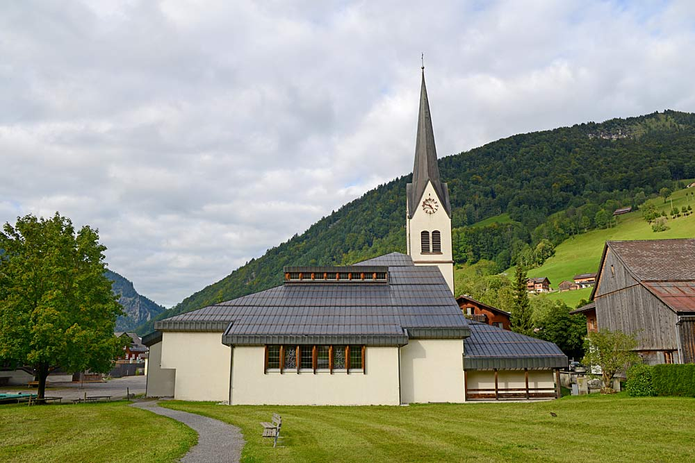 Pfarrkirche St. Antonius Eremit in Mellau