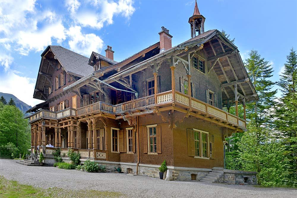 Englische Landhausvilla Maund in Schoppernau