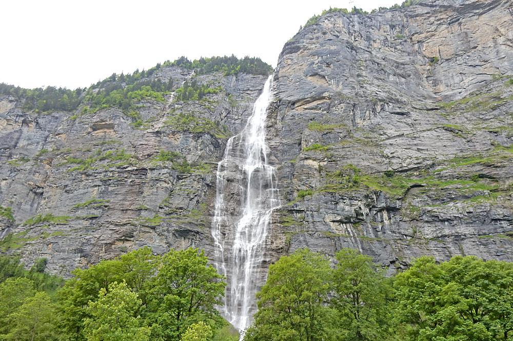 Staubbachfälle bei Lauterbrunnen im Lauterbrunnental