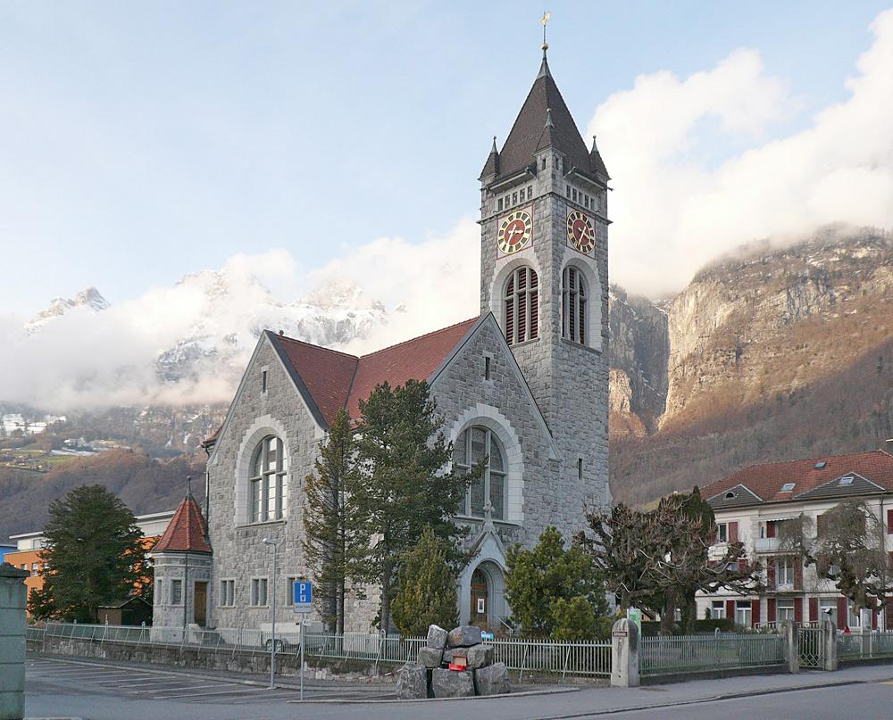 Die Protestantische Kirche von Walenstadt