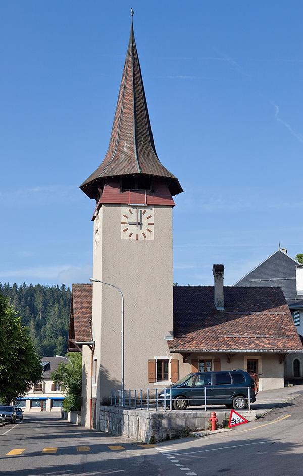 Kirche von Saint-Cergue