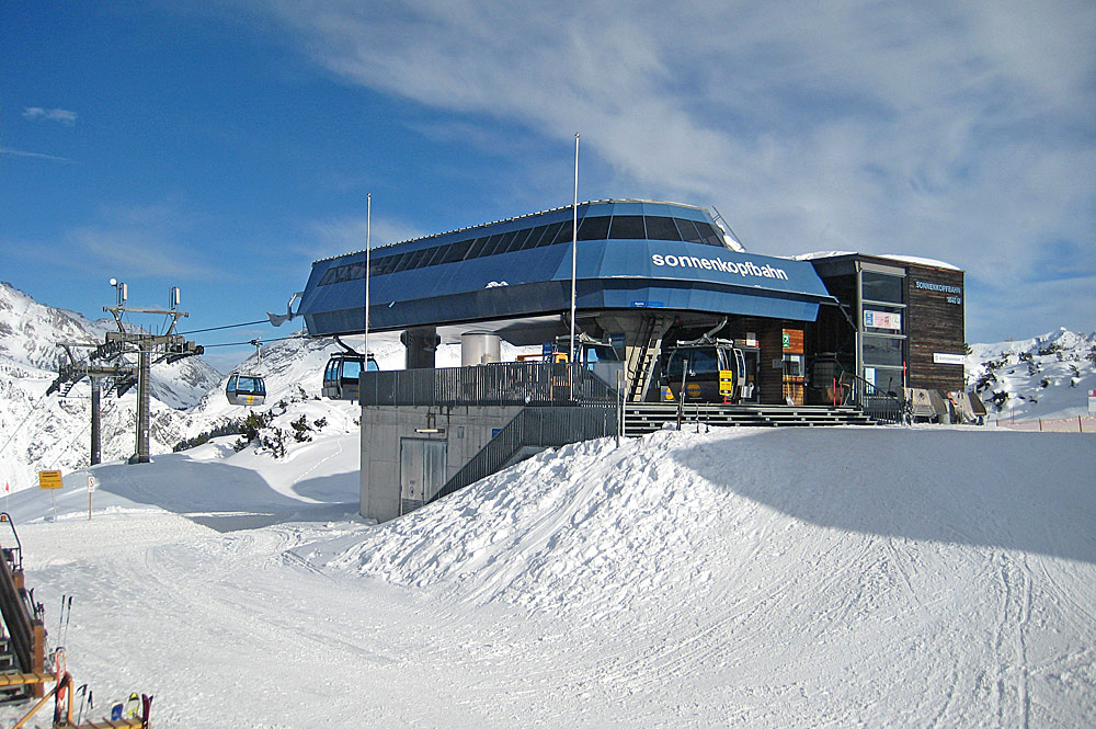 Bergstation der Sonnenkopfbahn