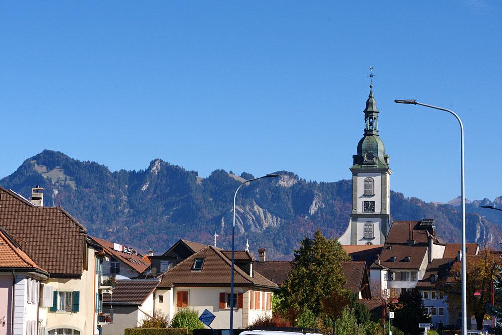 Stadtbild von Bulle
