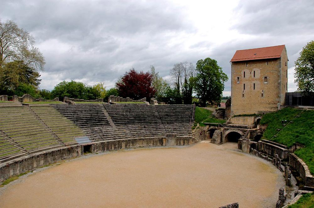 Das römische Amphitheater in Avenches