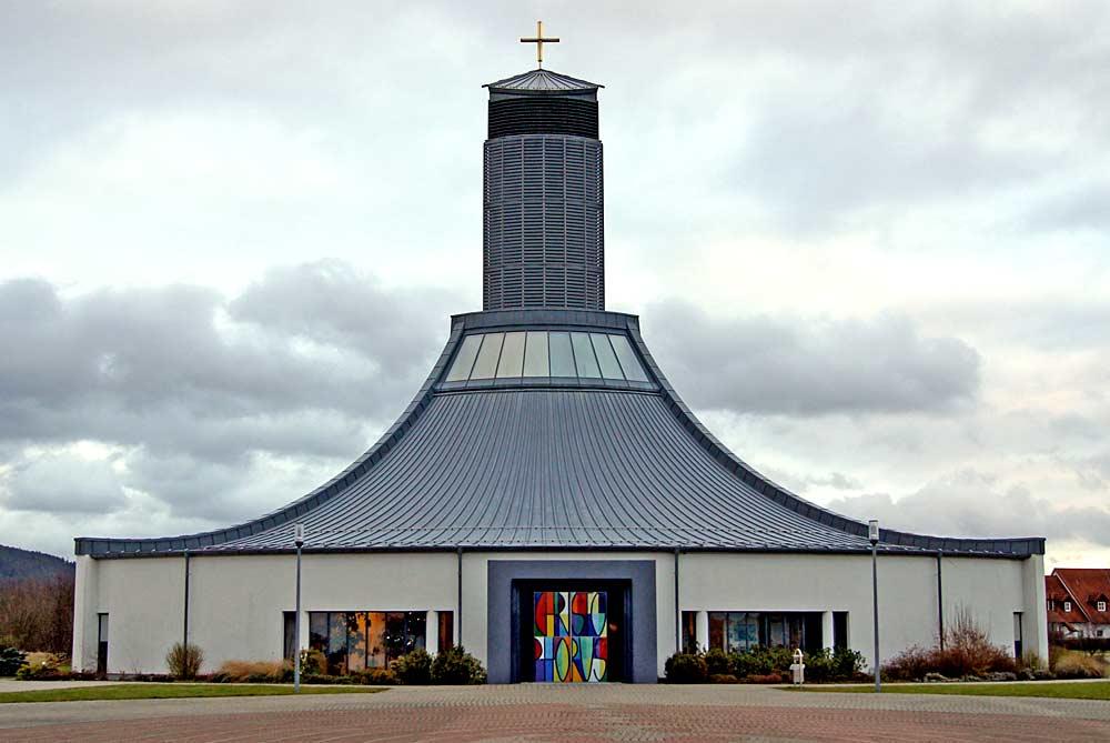 Autobahnkirche St. Christophorus in Himmelkron