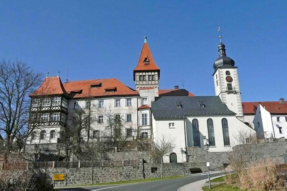 Schloss Brand bei Marktredwitz