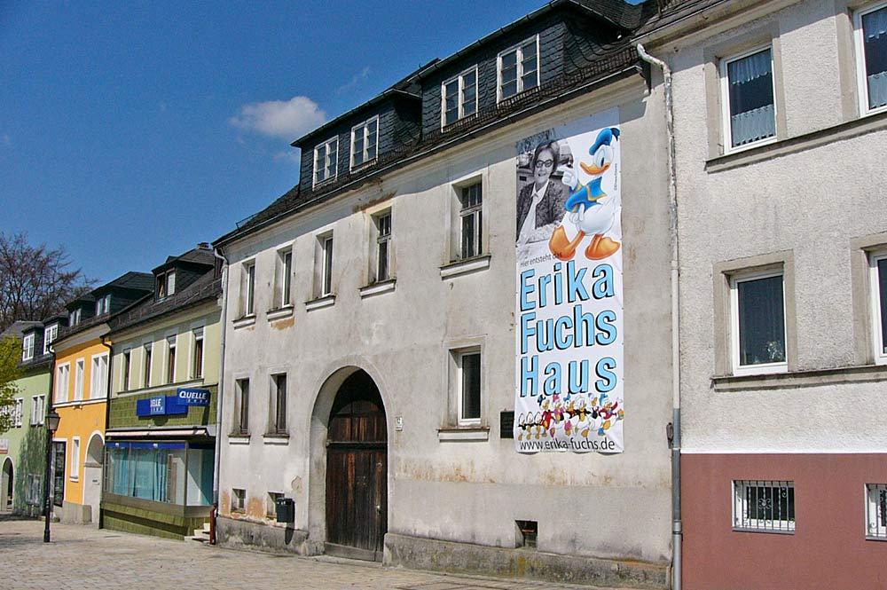 Comicmuseum im Erika-Fuchs-Haus in Schwarzenbach an der Saale