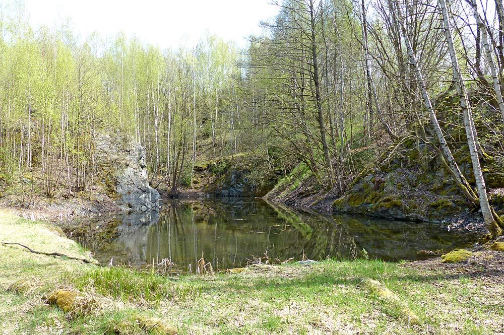 Geotop bei Schwarzenbach an der Saale