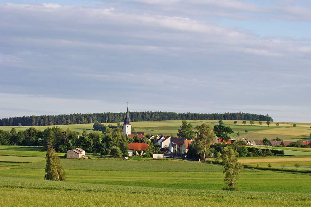 Thiersheim von Norden gesehen