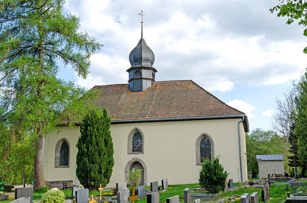 Friedhofskirche St. Stephan in Weidenberg