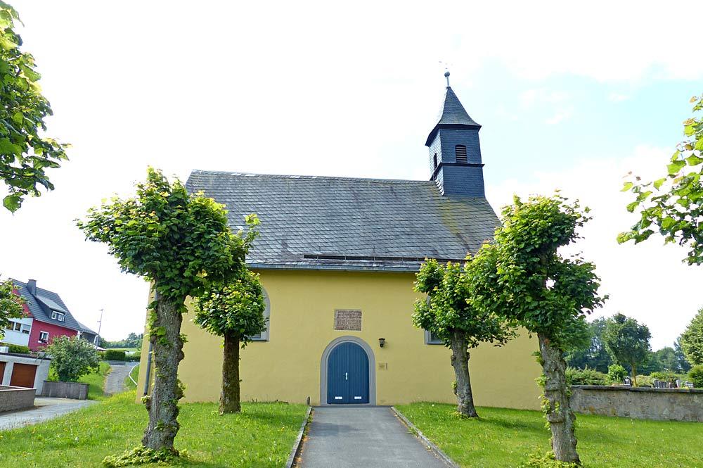 Friedhofskirche in Stammbach