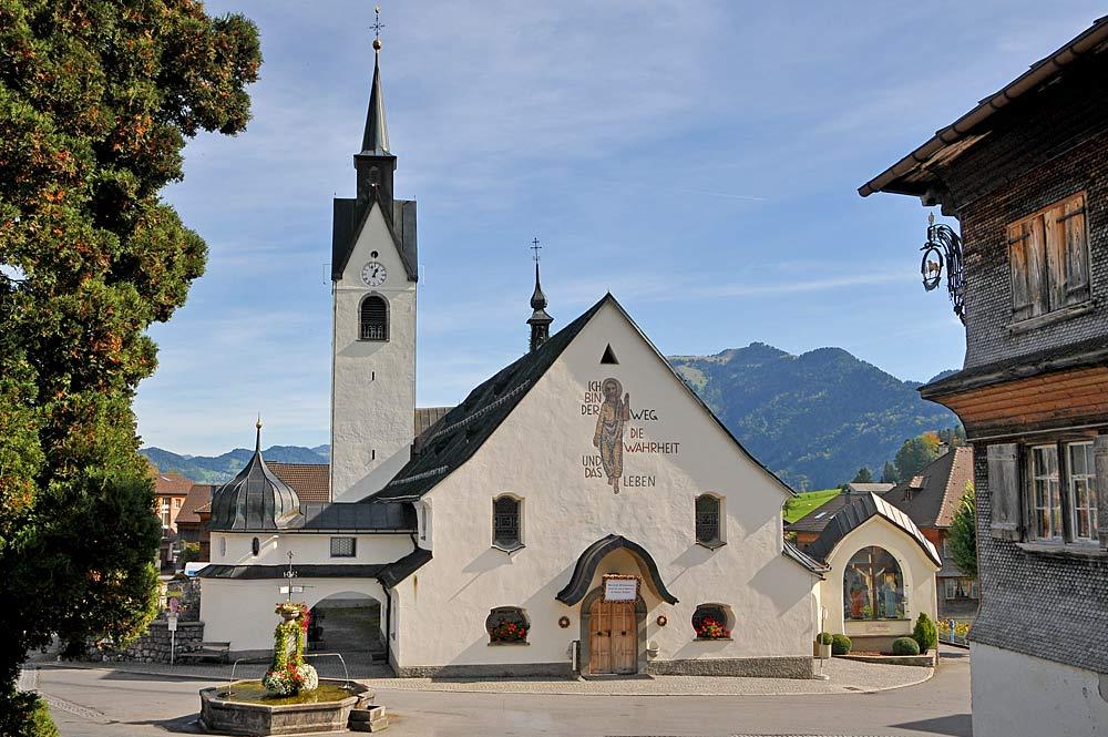 Pfarrkirche Heiligste Dreifaltigkeit in Schwarzenberg