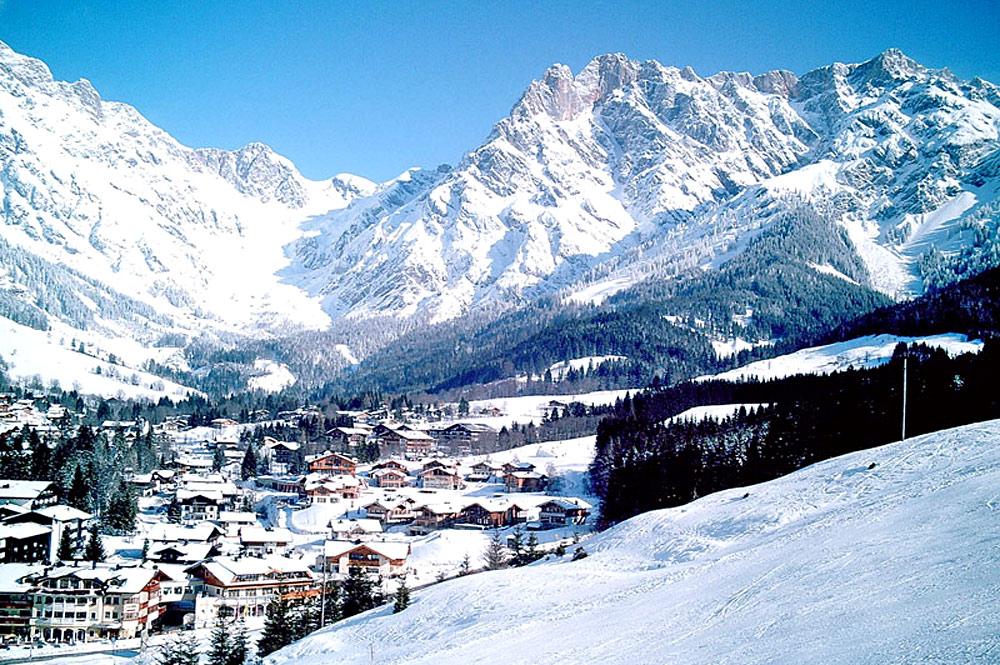 Blick auf Hinterthal-Maria Alm