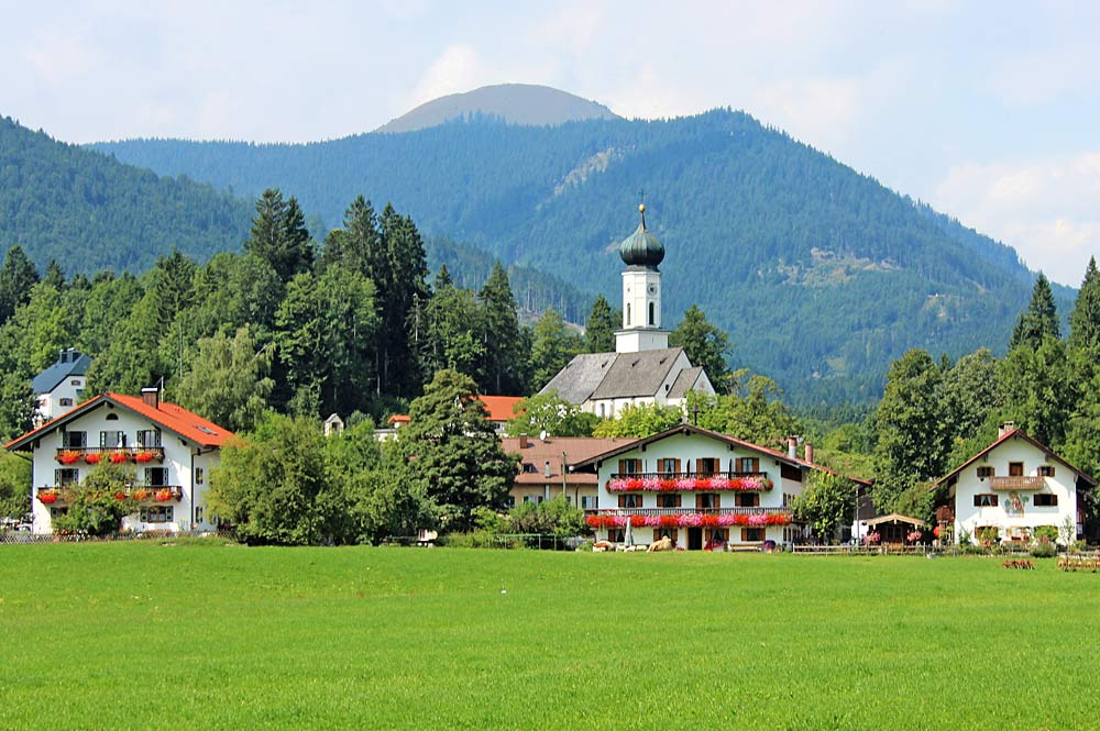 Ortszentrum von Jachenau