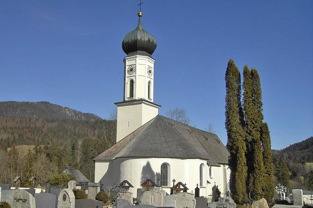 Pfarrkirche St. Nikolaus in Jachenau
