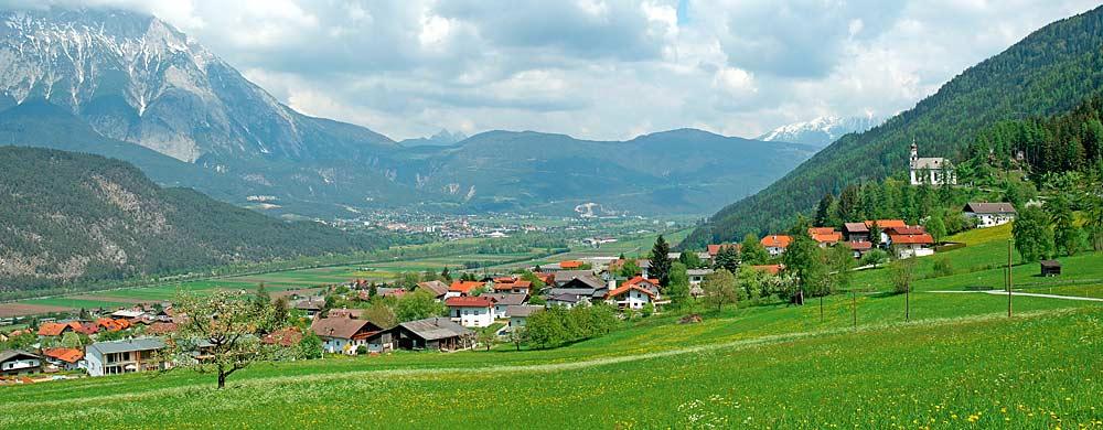 Blick auf den Ort Rietz