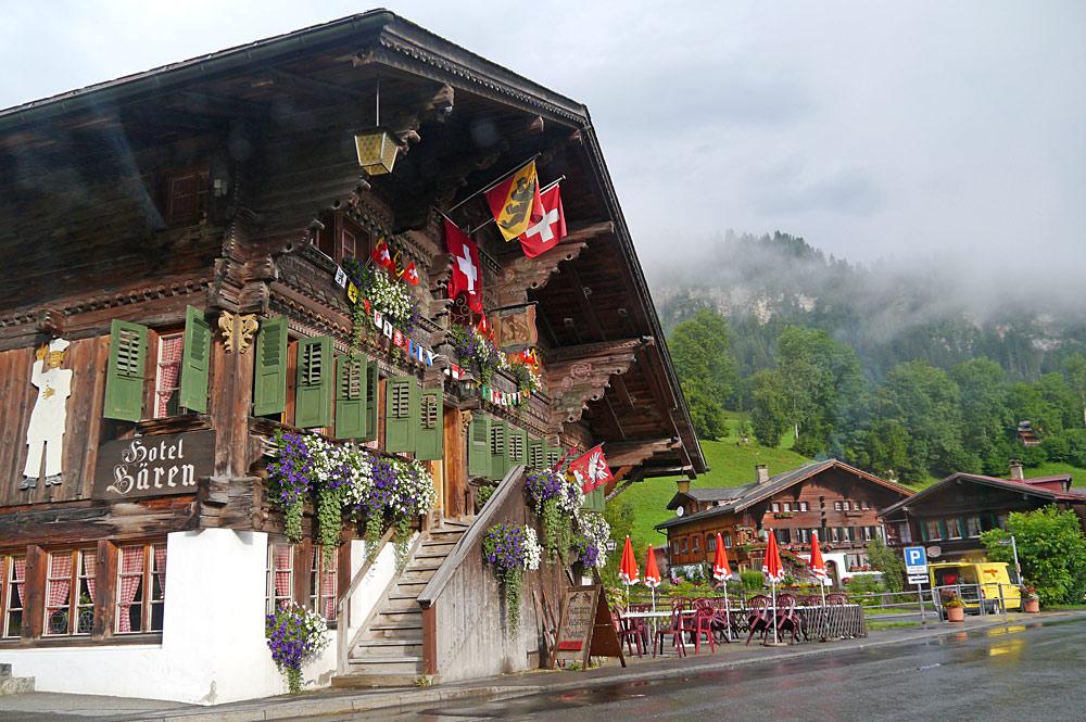 Ortskern von Gsteig bei Gstaad