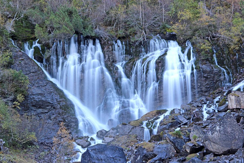 Wasserfall Siebenbrünnen bei Lenk