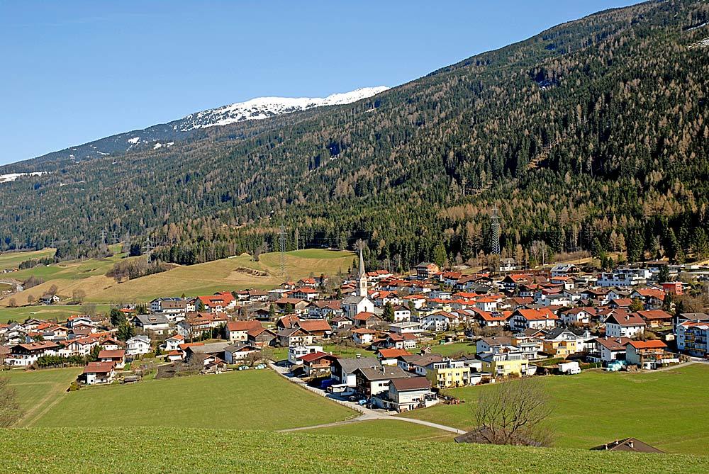 Blick auf die Gemeinde Rinn