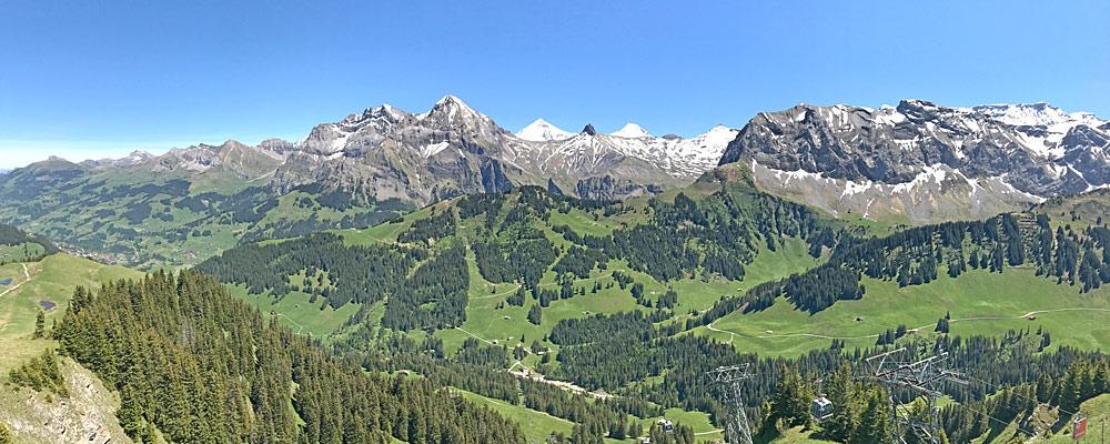 Blick vom Sillerenbühl nach Osten