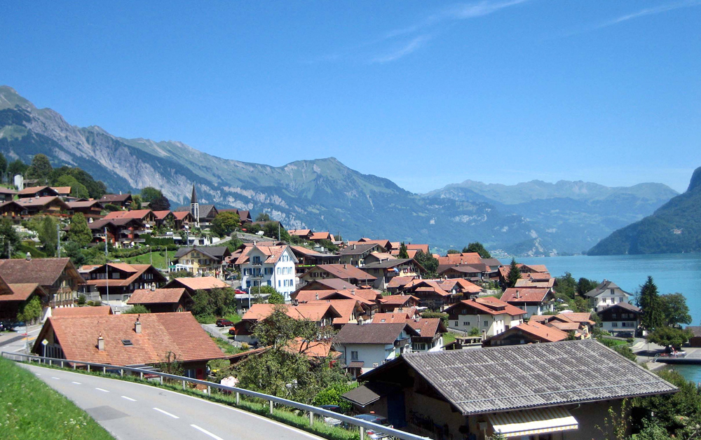 Blick auf Oberried