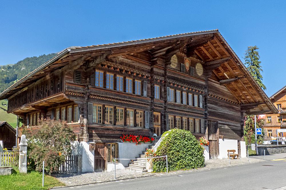 Außenansicht des Notar-Sieber-Hauses in Reichenbach im Kandertal