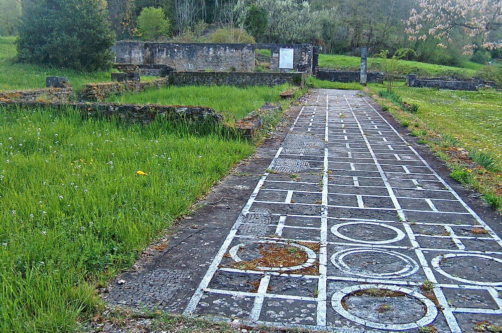 Überreste der römischen Villa in Liestal-Munzach