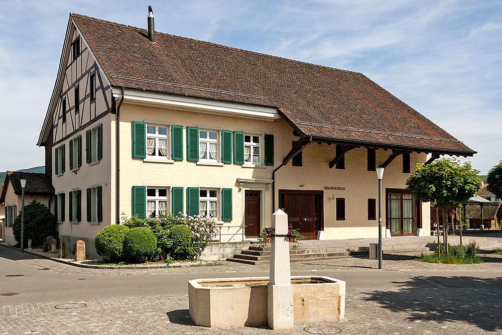 Außenansicht des Heimatmuseums in Reinach