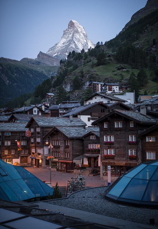 Kirchplatz in Zermatt