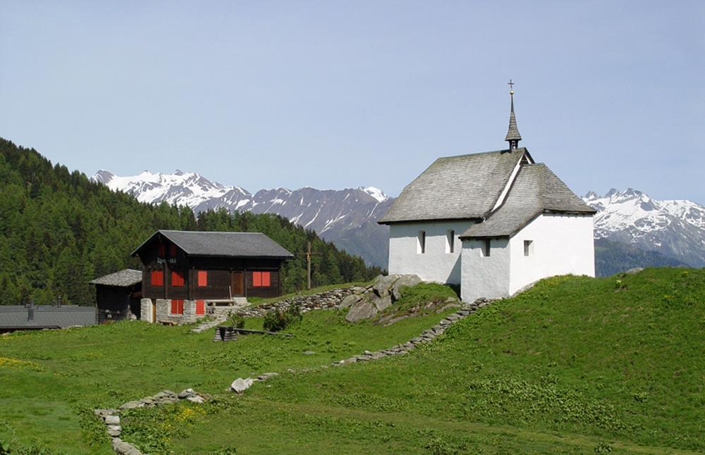 Kapelle auf der Bettmeralp
