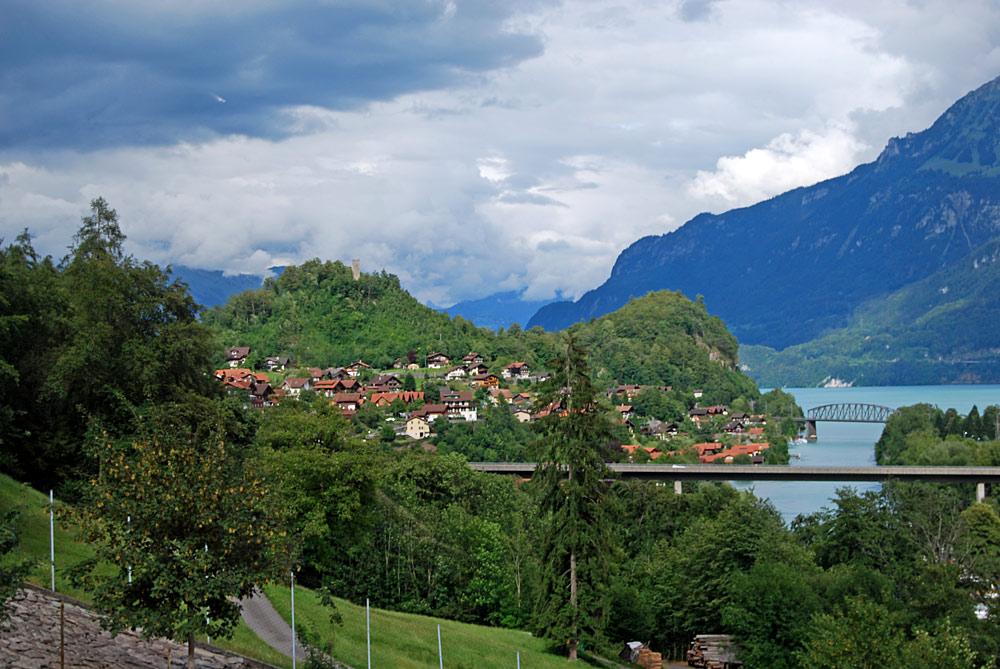 Blick auf Ringgenberg