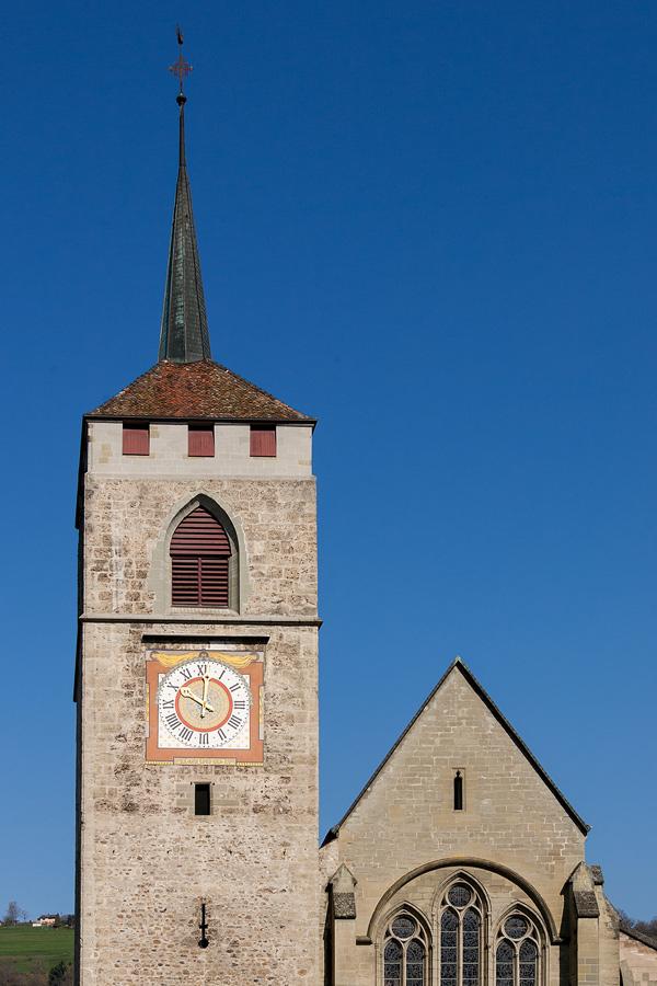 Kirche in Moudon