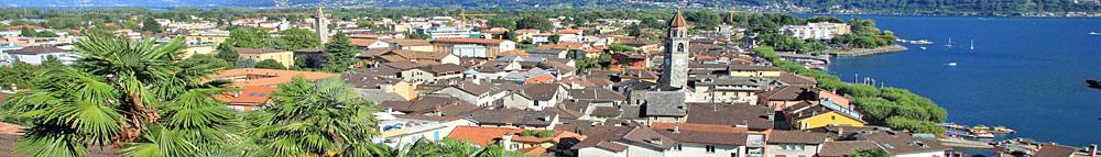 Panoramablick auf Ascona
