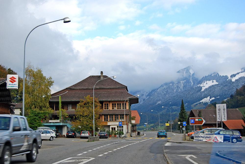 Ortszentrum von Därstetten