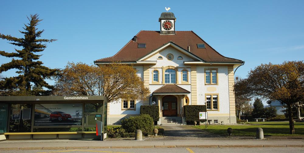 Gemeindehaus in Worben