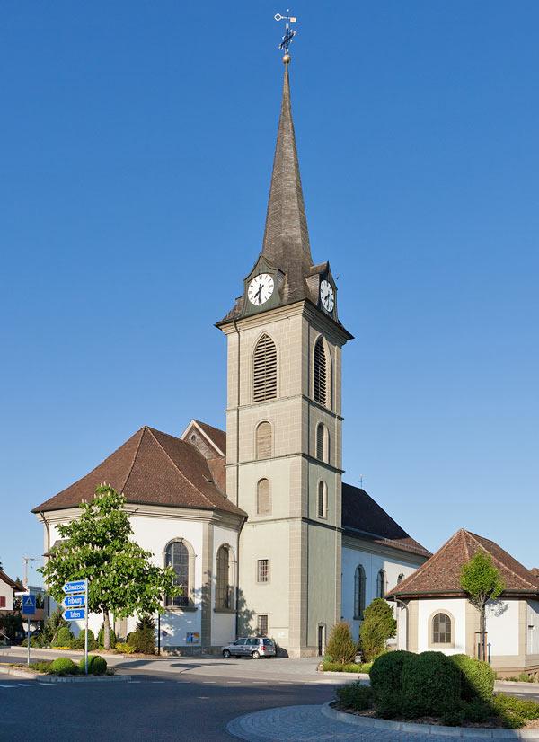 Pfarrkirche in Düdingen