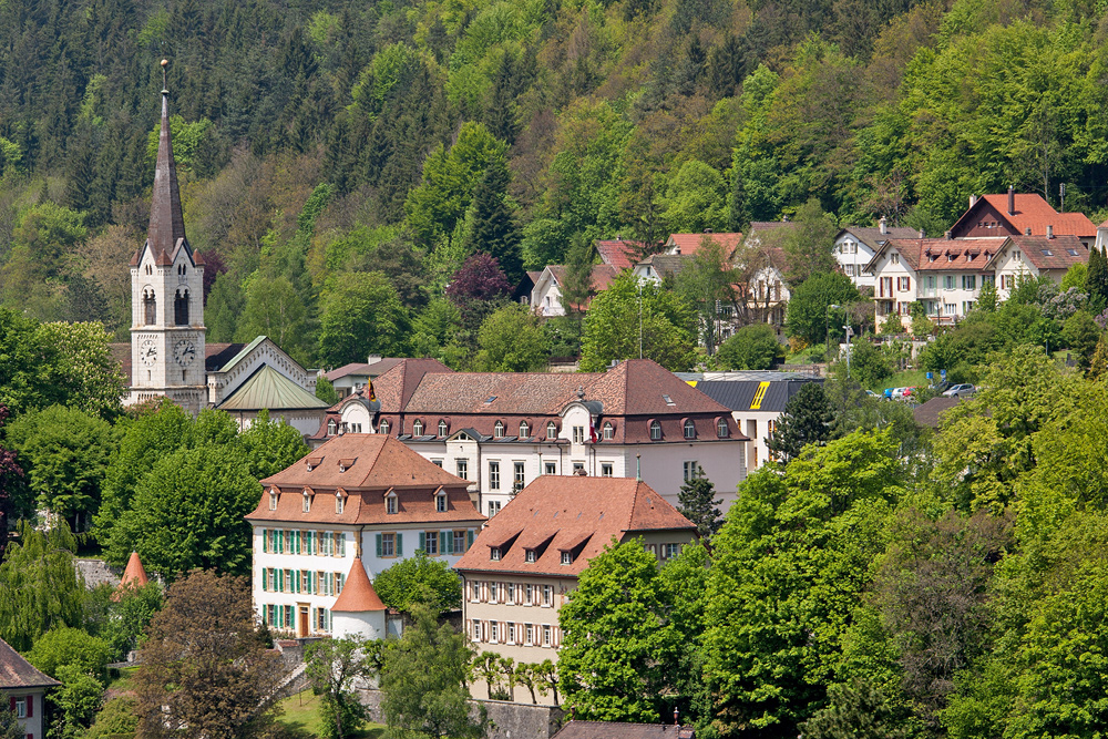 Stift Saint Germain in Moutier