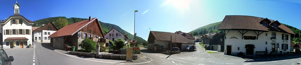 Panorama von Vauffelin