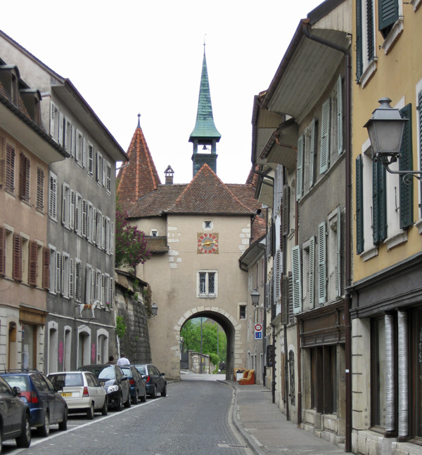 Stadttor Porte de France in Pruntrut