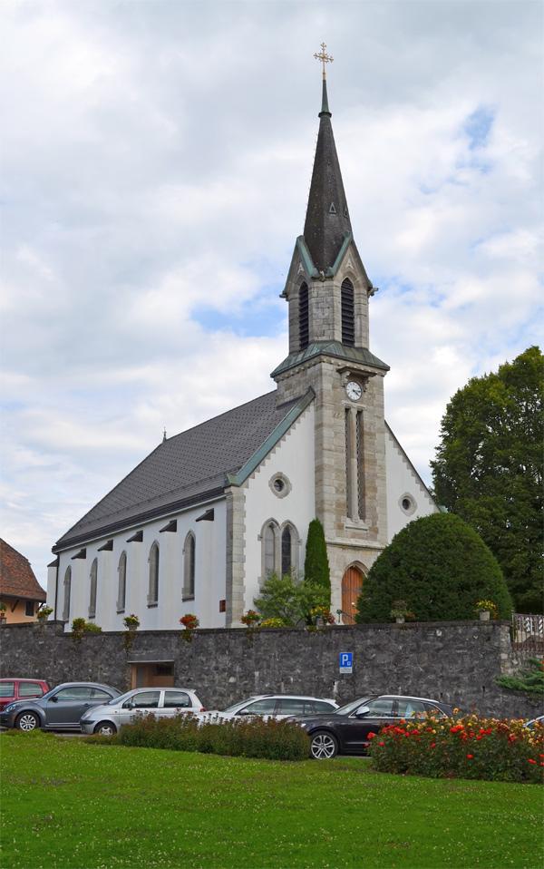 Kirche in Chexbres